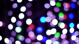 abstract light patterns coloured bulbs Footage