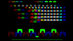 invaders computer game arcade gaming retro aliens Animation