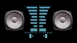 music graphic equalisers speakers Footage