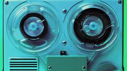 spy tape reel 2 reel cassette audio music vintage Footage