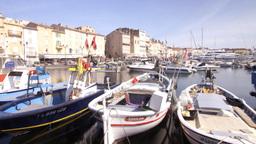 st tropez france port harbour boats Footage