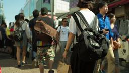 teen teenager takeshita street fashion shopping tokyo Footage