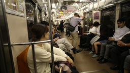 tokyo japan city future skyscrapers train monorail travel Footage