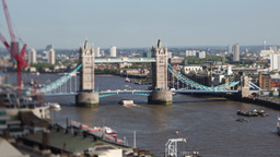 thames tower bridge london england Footage
