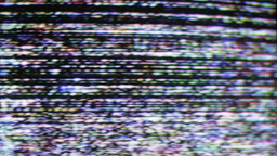 video television static distortion broadcast fuzzy vcr Footage