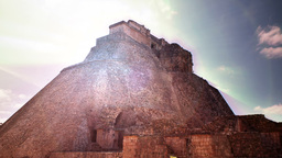 mayan ruins mexico uxmal Footage
