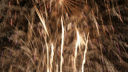 abstract fireworks display Footage