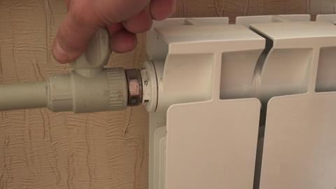 Optimal Setting of the Thermostat Valve. Radiator Adjustment to Save Energy. Rad Footage