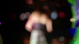vip blurred dancer01 Footage