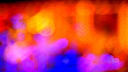 wet lights01 Footage