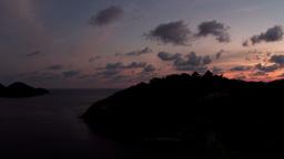 zihua sunset03 Footage