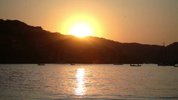 zihuatanejo sunrise mexican paradise Footage