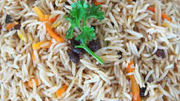 Rice Close Up Hd RT stock footage