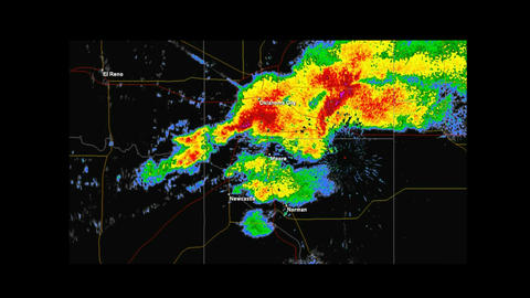 *LOOP* 2013 Moore, Oklahoma Tornado Weather Radar Animation