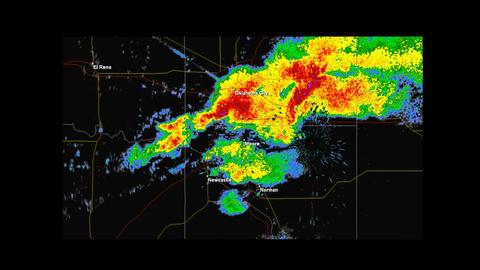 *LOOP* 2013 Moore, Oklahoma Tornado Weather Radar Animation