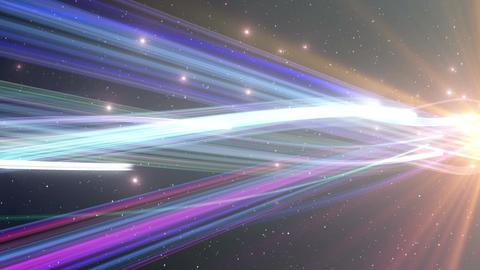 Light Beam Line 2 D 4 4 K Animation