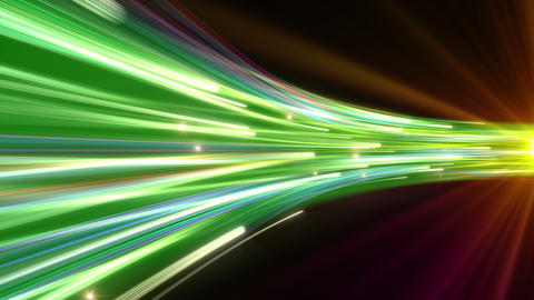Light Beam Line 2 G 6 4 K CG動画