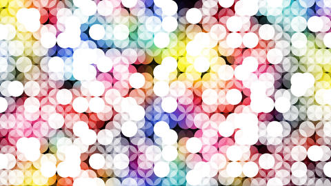 Geometry005 Circle Colorful White stock footage
