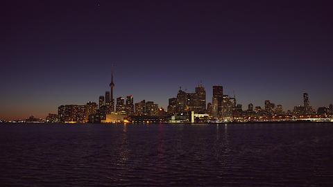 Toronto Skyline. 4K UHD Footage
