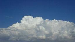 Cumulonimbus - Building thunderclouds - time lapse Footage