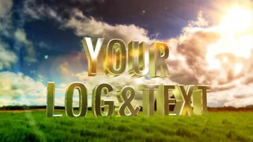 Logo 3 D In Nature After Effects Template