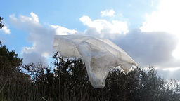 Odyssey/ End Of Journey Of A Plastic Bag stock footage