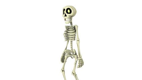 歩く骸骨 Animation