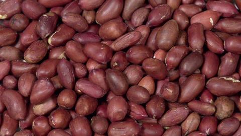 Peeled Peanut Kernels HD stock footage