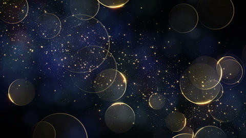 particle 026 gold shining background Footage