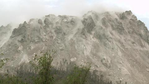 Earthquake Shakes Volcano Lava Dome Rare Footage Footage