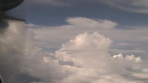 Flying Through Tropical Skies Footage