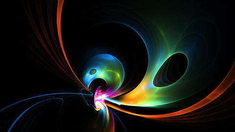 Bright Colorful Abstract Background Stock Video Footage
