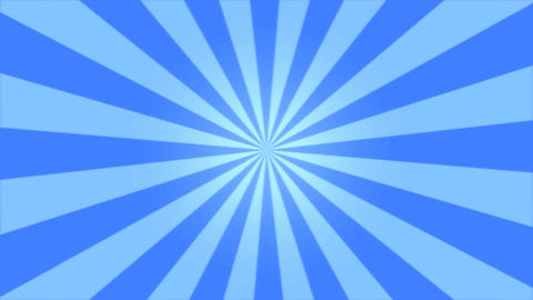 Rotating Stripes Background Animation - Loop Blue Animation