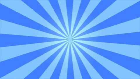 Rotating Stripes Background Animation - Loop Blue Animation
