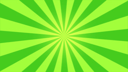 Rotating Stripes Background Animation - Loop Green Animation