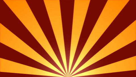 Rotating Stripes Background Animation - Loop Orange Animation