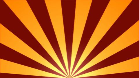 Rotating Stripes Background Animation - Loop Orange Animation