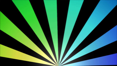 Rotating Stripes Background Animation - Loop Rainbow Animation
