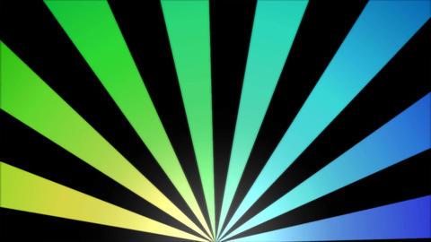 Rotating Stripes Background Animation - Loop Rainbow stock footage