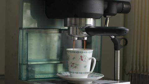 espresso coffee Stock Video Footage