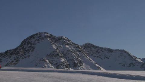 skier 07 Stock Video Footage