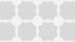 white pattern circle Stock Video Footage