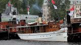passenger steamer saimaa Footage
