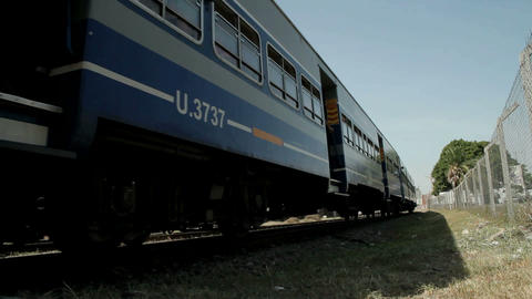 Argentina Train Stock Video Footage