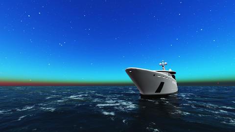 Cabin cruiser Stock Video Footage