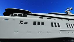 Cabin cruiser Animation