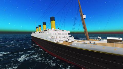 Titanic Animation