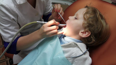 Pediatric Dentistry Stock Video Footage