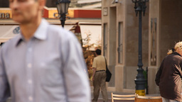 European City Street Budapest Hungary 04 neutral Stock Video Footage