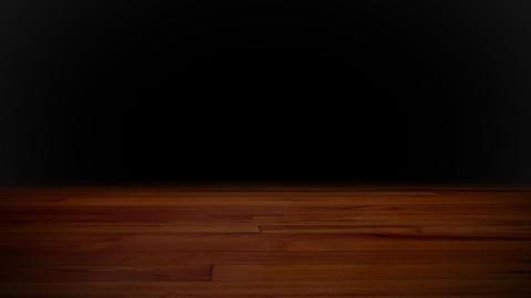basketball on wood floor Stock Video Footage